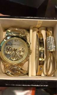 Mk watch set. Authentic send me msg for more photos