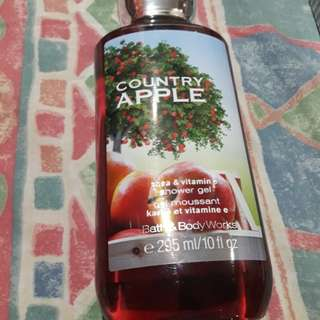 Bath & Body Works Shower Gel (Country Apple)