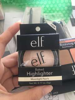 Elf Baked Highlighter in Moonlight Pearls