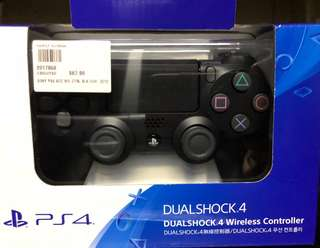 New PS4 controller (Black)