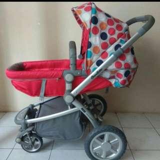 Stroller Cocolatte i-groove  Terawat Ya Pemakaian Oke Bisa 3 Posisi  Handle Depan Belakang Bisa Dipake Dari Newborn-3tahun Bisa Cek Langsung Sepuasnya Dirumah Harga Barunya 1.800an Jual Murmer  Nego No Sadis☺