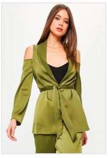 New Missguided Green blazer