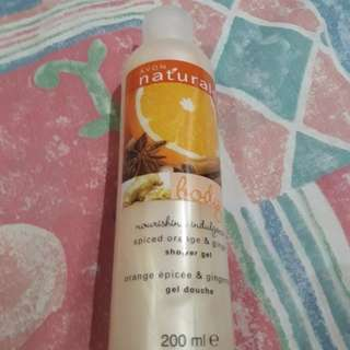 Avon Shower Gel (spiced orange & ginger scent)