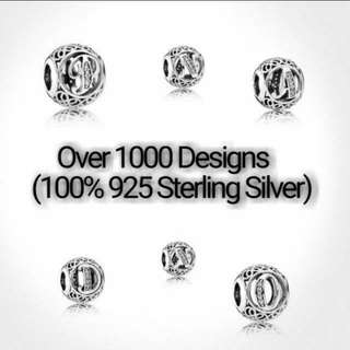 Over 1000 Designs (925 Sterling Silver Charms) To Choose From, Compatible With Pandora, T11