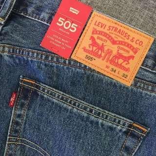 AUTHENTIC LEVI'S 505 DENIM PANTS