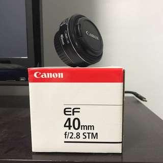 Canon EF 40mm f2.8 stm