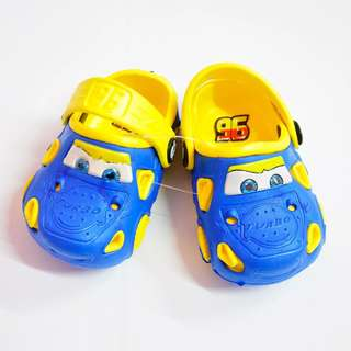 Cars slippers shoes