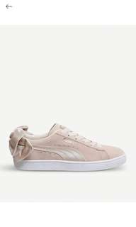 PUMA Suede Bow Valentine trainers