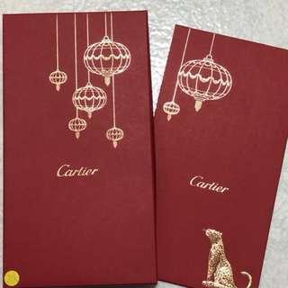 Cartier 紅包袋20個 不零售