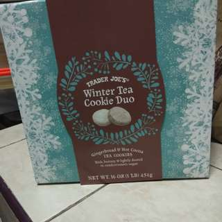 Trader Joe's Winter Cookie Tea Duo