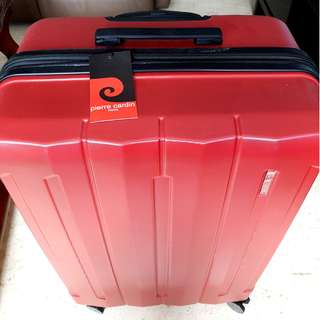 "🔥 PIERRE CARDIN 28"" LUGGAGE BAGGAGE ORIGINAL AUTHENTIC SAMSONITE RIMOWA TSA 🔥"
