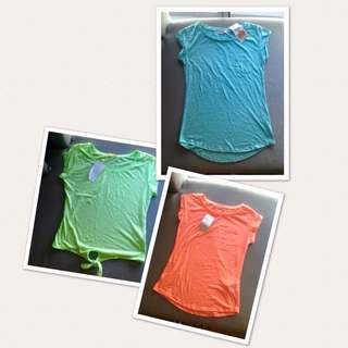 3 for 1 Bershka shirts - small