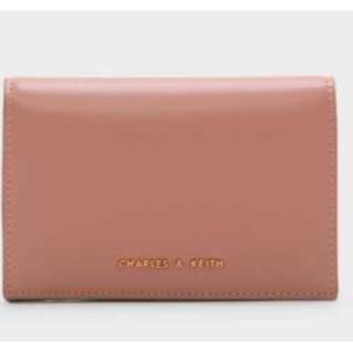 新加坡直送 包郵 Charles & Keith SNAP BUTTON WALLET