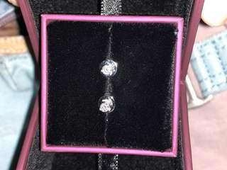 Ma belle 鑽石耳環 全新 有單
