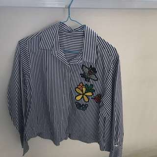 Brand new embroidered shirt