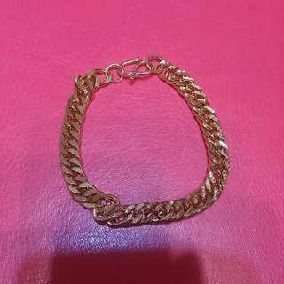18k gold plated imitation gold bracelet - 0725
