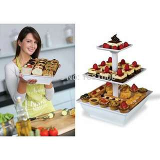 3tier snack serve