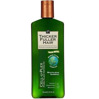 Thicker Fuller Hair Revitalizing Shampoo  黑人頭 活髮防脫 增厚生髮洗頭水洗髮露 355ml 100% NEW *斷貨多時,新貨再度抵港。