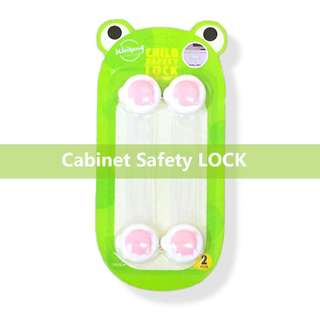 Cabinet safety lock