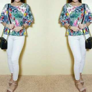 Floral Pia Top