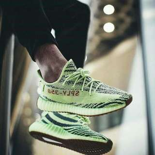 Adidas Yeezy Boost Frozen Yellow