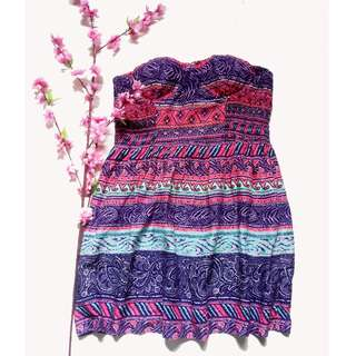 American Eagle Tube Summer Dress