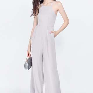 Fayth Rouge Jumpsuit in Grey