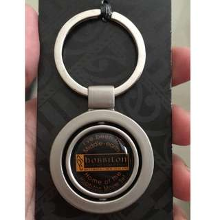 Hobbiton Movie Set Keychain