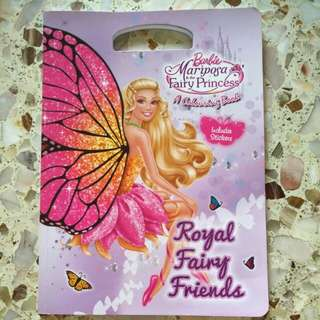 Barbie Mariposa & the Fairy Princess Colouring Book