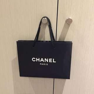 Chanel Paper Shopping Bag - Small