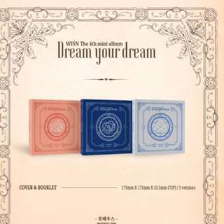 [PRE ORDER] WJSN 4TH MINI ALBUM DREAM YOUR DREAM