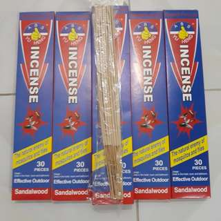Sandalwood Organic Incense