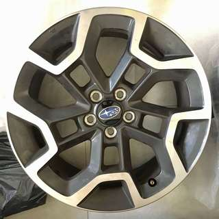 "Subaru XV Crosstrek 2016-2017 17"" Factory OEM Wheel Rims only"