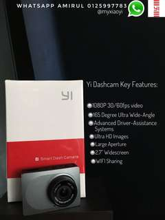 Yi Dashcam International Version