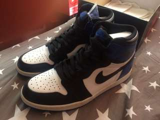 Air Jordan 1 x Fragment sz 9.5 US Mens