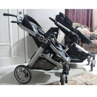 2 USED premium strollers for sale