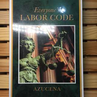 Everyone's Labor Code - Azucena (slightly used)