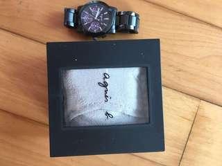Agnes b watches 錶