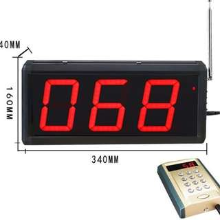 Brand New 3 digit LED Queue Number Display