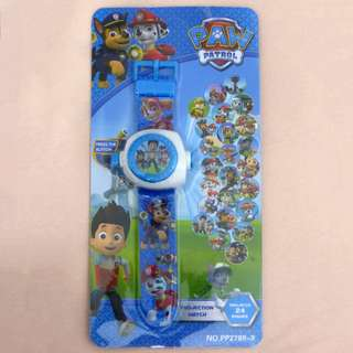 BN Paw Patrol 24-Image Projection Watch