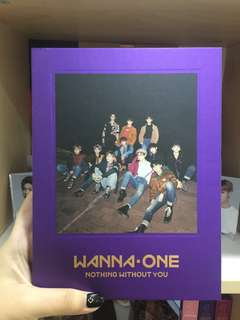 [WTS] WANNA ONE NOTHING WITHOUT YOU WANNA VER ALBUM