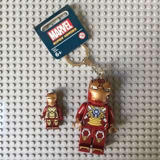 Iron Man Spiderman Hulk Thor Hawkeye Keychain (Large)