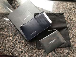 YSL cardholder (real and new)