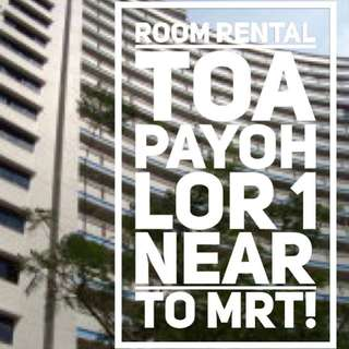 Room Rental, walk to Toa Payoh MRT!