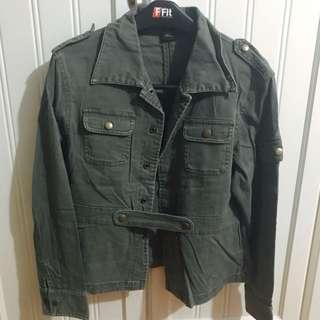 Megaforce軍綠型外套