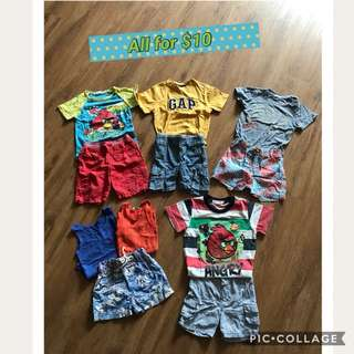 Boys clothing 2-3yo