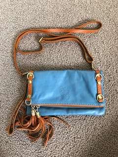 Blue Crossover Bag