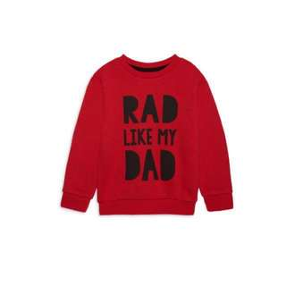 PRIMARK BABY BOY RED SWEATER