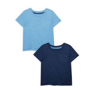 PRIMARK 2 PIECES BABY BOY BASIC PLAIN TSHIRT