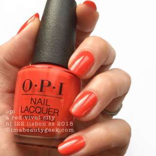 BN OPI A Red-vival City L22